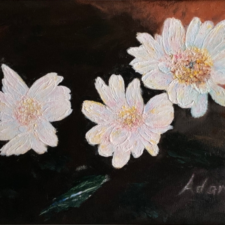 Floating Blooms Acrylic Painting ©Felipe Adan Lerma https://fineartamerica.com/featured/floating-blooms-acrylic-painting-felipe-adan-lerma.html