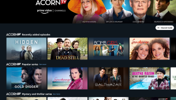 Acorn TV on Amazon https://amzn.to/30YhCDy