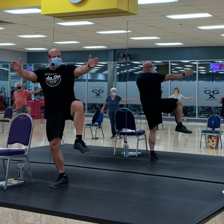 Curt (George) Holland Certified SilverSneakers Instructor & Trainer at Gold's Gym Austin 512-326-1199