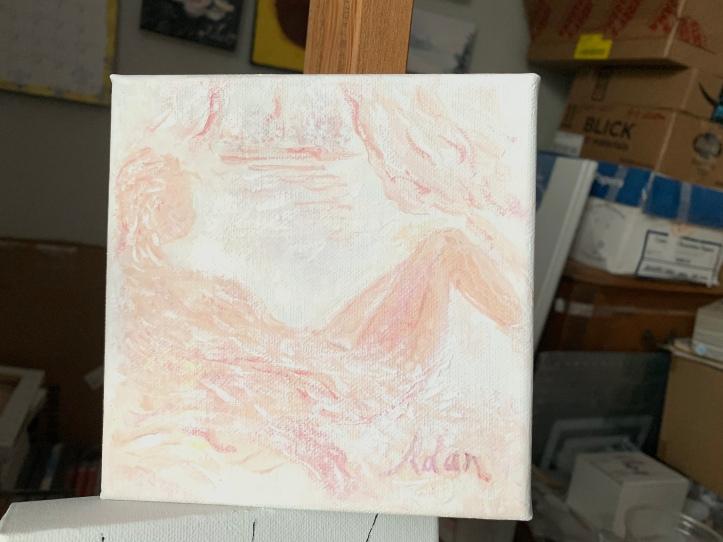 Easy Morning ©Felipe Adan Lerma, watercolor on absorbent ground May 2020
