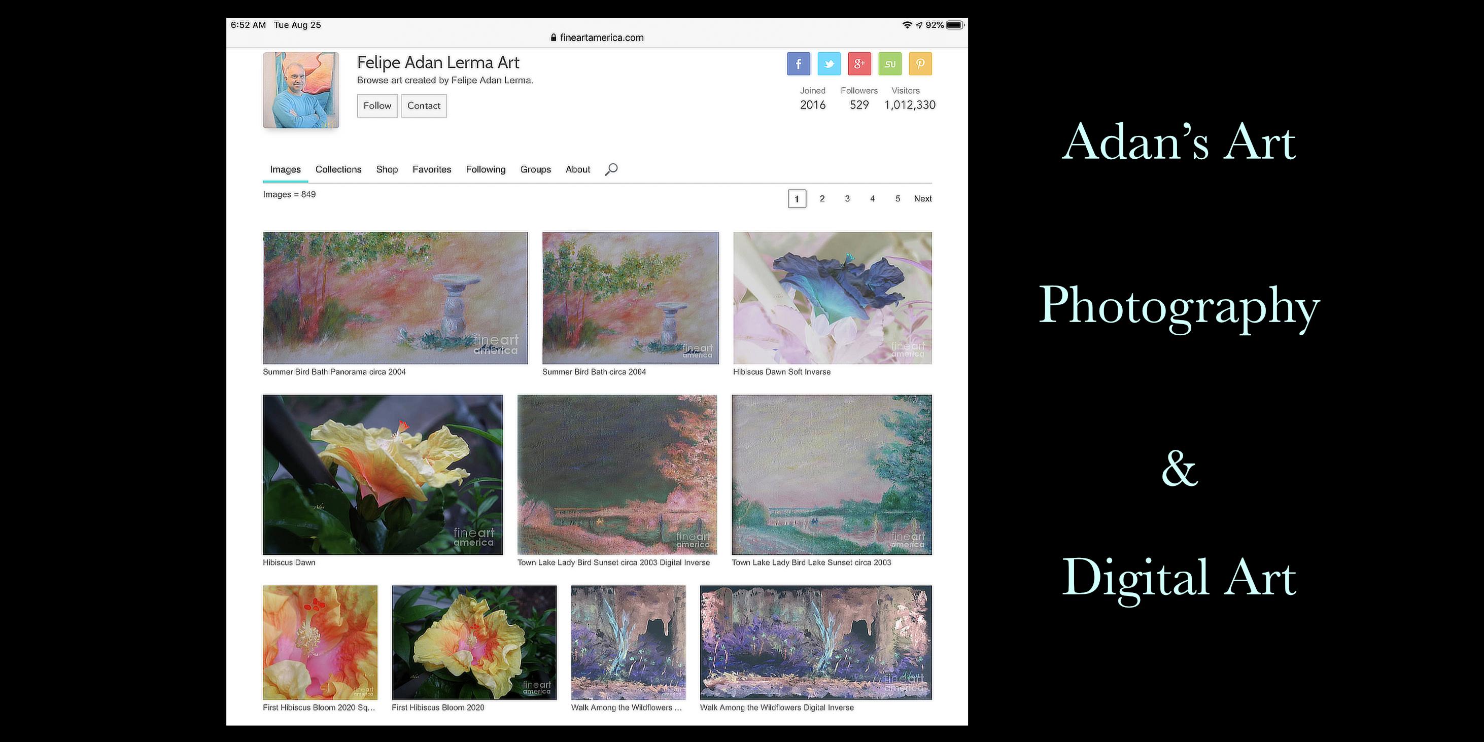 Sample Paintings by Felipe Adan Lerma on Fine Art America 08.25.20 https://fineartamerica.com/profiles/felipeadan-lerma?tab=artworkgalleries&artworkgalleryid=702859
