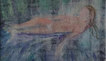 Awash in Dreams ©Felipe Adan Lerma - Painting on Transparent absorbent ground https://fineartamerica.com/featured/awash-in-dreams-felipe-adan-lerma.html