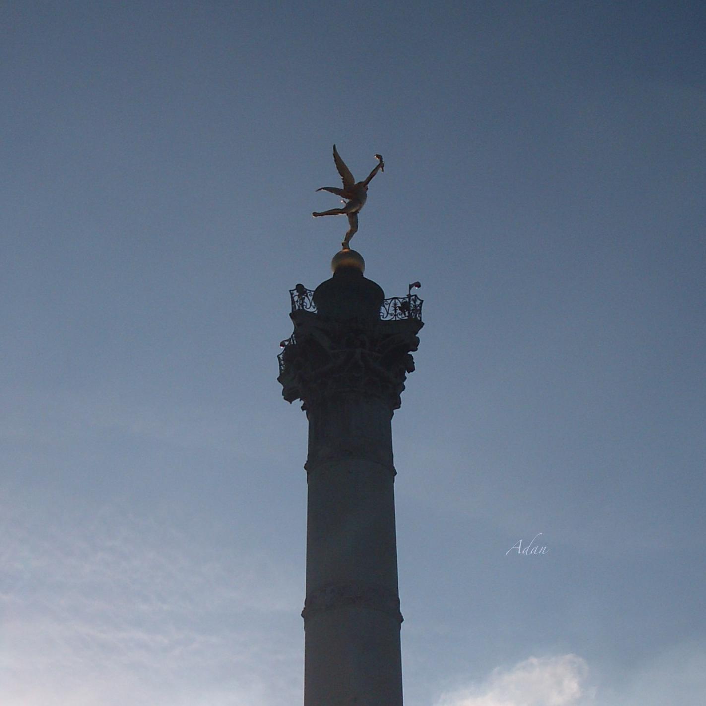 Bastille Winged Monument ©Felipe Adan Lerma https://fineartamerica.com/featured/bastille-winged-monument-paris-felipe-adan-lerma.html?newartwork=true