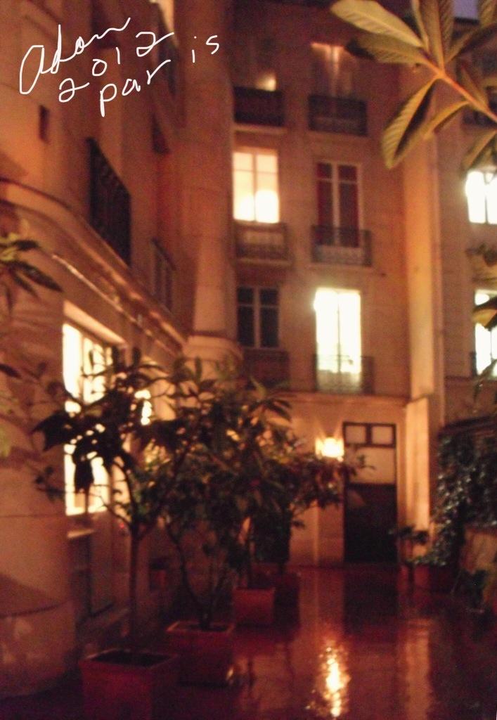 Apt Bldg in Paris 2012 ©Felipe Adan Lerma