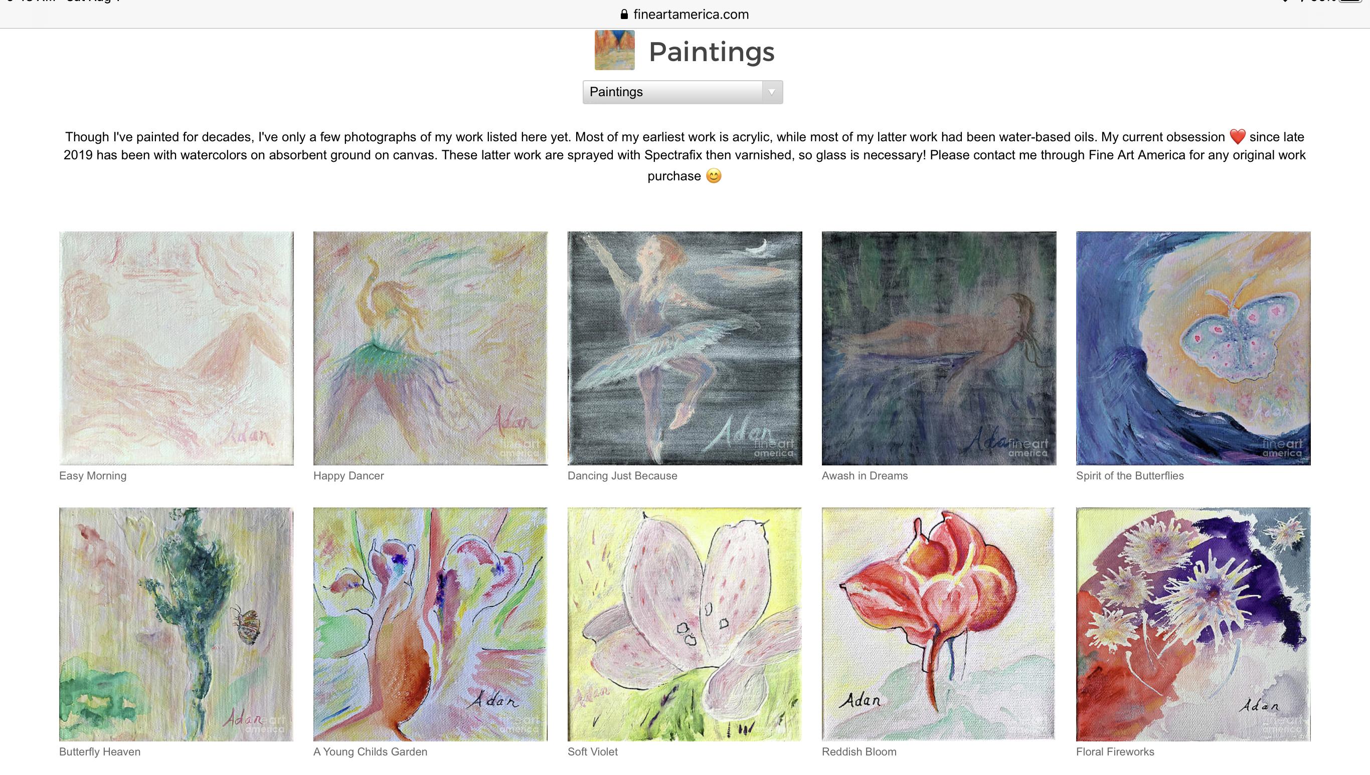 Sample Paintings by Felipe Adan Lerma on Fine Art America 08.01.20 https://fineartamerica.com/profiles/felipeadan-lerma?tab=artworkgalleries&artworkgalleryid=702859