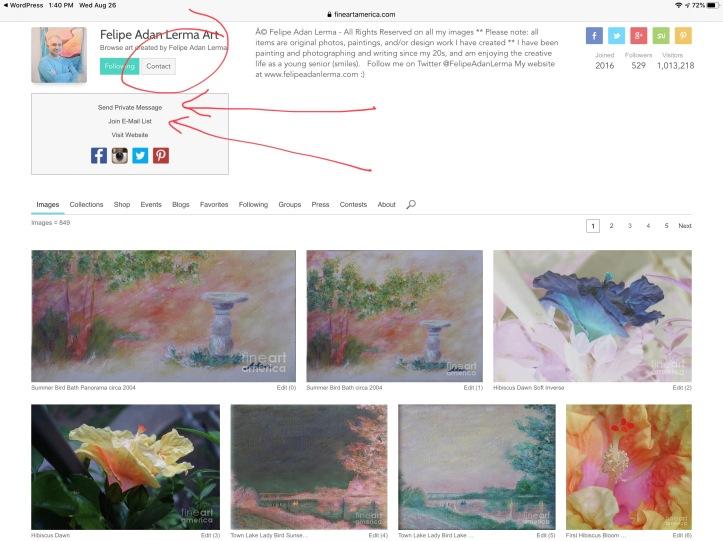Join Email List or Contact Me at Fine Art America - Felipe Adan Lerma Artist email me - https://fineartamerica.com/controlpanel/emailsinternal.html?tab=newmessage&action=emailmember&memberidtype=artistid&memberid=459979 join my email list - https://fineartamerica.com/subscribememberemaillist.html?memberidtype=artistid&memberid=459979