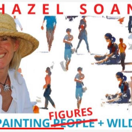 Hazel Sloan - Painting People - Figures on YouTube https://youtu.be/BJhqHJY8iCs