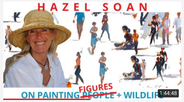 Hazel Sloan - Painting People - Figures on YouTube https://youtu.be/BJhqHJY8iCs