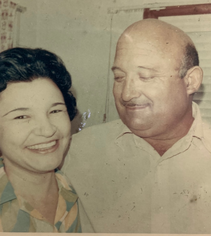 Mom & Dad mid to late 60s ©Felipe Adan Lerma