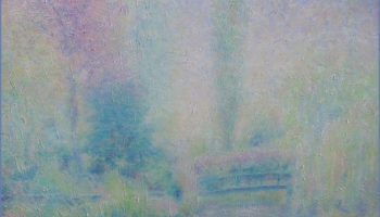 Monet's Garden April Rain in Giverny @Felipe Adan Lerma https://felipeadan-lerma.pixels.com/featured/2-monets-garden-april-rain-in-giverny-felipe-adan-lerma.html