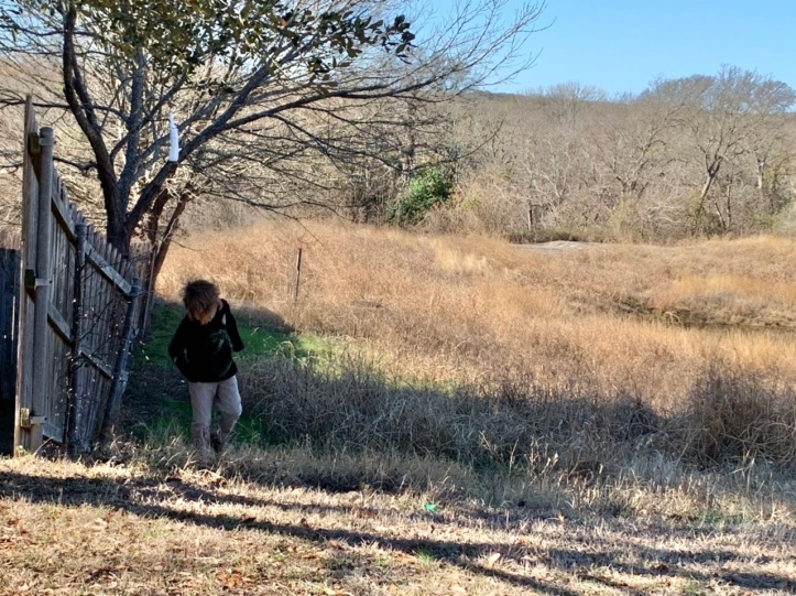 Max on a hike with Grandma and Grandpa Jan 03, 2021 ©Felipe Adan Lerma