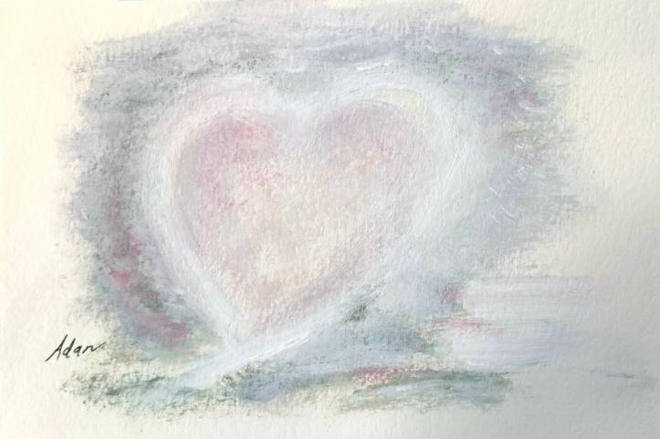 Hearts #6 ©Felipe Adan Lerma 6x9 acrylic on paper https://felipeadan-lerma.pixels.com/featured/acrylic-hearts-6x9-6-felipe-adan-lerma.html
