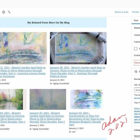 Related Posts feature on Adan's WordPress Site 02.10.21 https://felipeadanlerma.com/