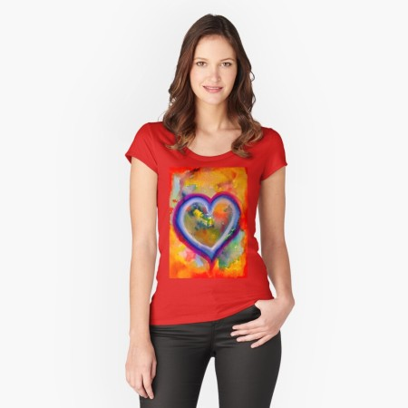 Grounded Heart T-Shirt by Tiffany Arp-Daleo https://tiffanyarpdaleo.com/2021/02/02/grounded-heart/