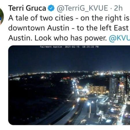 Tale of Two Cities (Austin) Winter Storm February 2021 via Terri Gruca @TerriG_KVUE https://www.facebook.com/1663286112/posts/10222624862684595/