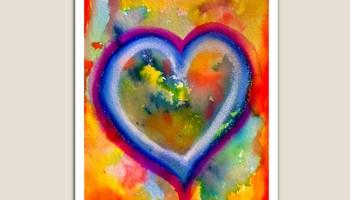Grounded Heart by Tiffany Arp-Daleo https://tiffanyarpdaleo.com/2021/02/02/grounded-heart/