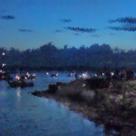 Festival Night Land and Shore ©Felipe Adan Lerma https://felipeadan-lerma.pixels.com/featured/festival-night-land-and-shore-felipe-adan-lerma.html