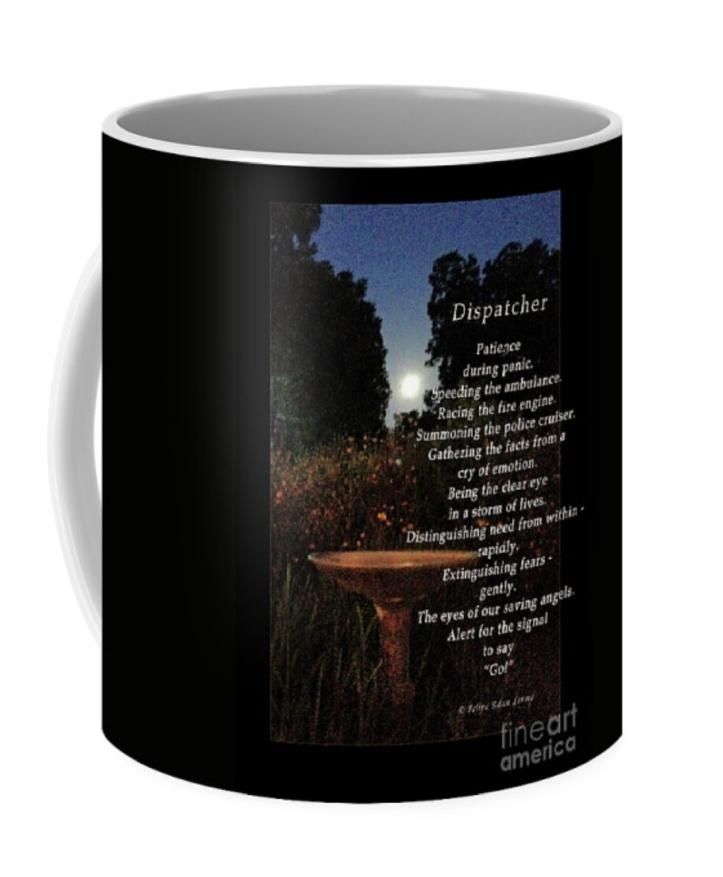 Dispatcher Coffee Cup ©Felipe Adan Lerma https://felipeadan-lerma.pixels.com/featured/dispatcher-felipe-adan-lerma.html?product=coffee-mug