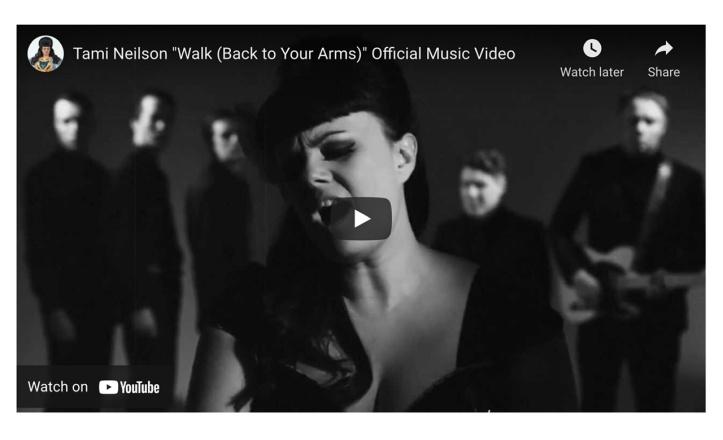 "Tami Neilson ""Walk (Back to Your Arms"" https://youtu.be/JOZ6K4yLrzM"