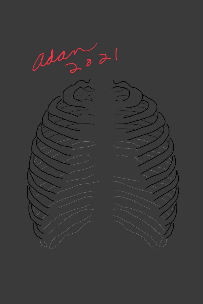 Radiology Technologist dark fill in-progress ©Felipe Adan Lerma 4 digital layers