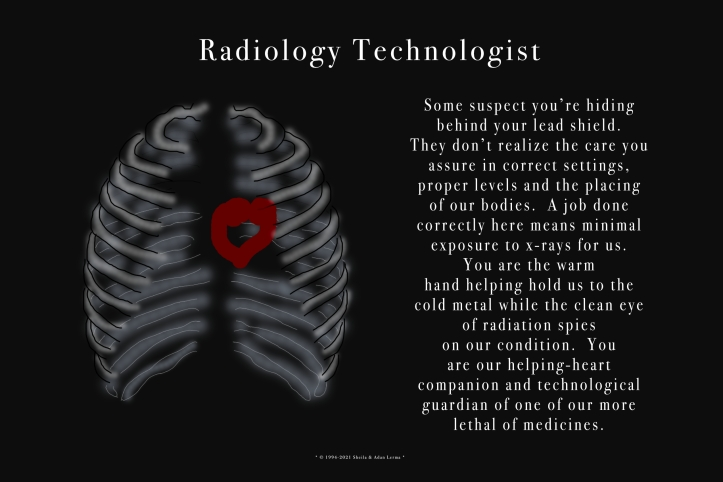 Radiology Technologist Poster ©Felipe Adan Lerma https://felipeadan-lerma.pixels.com/featured/radiology-technologist-poster-felipe-adan-lerma.html