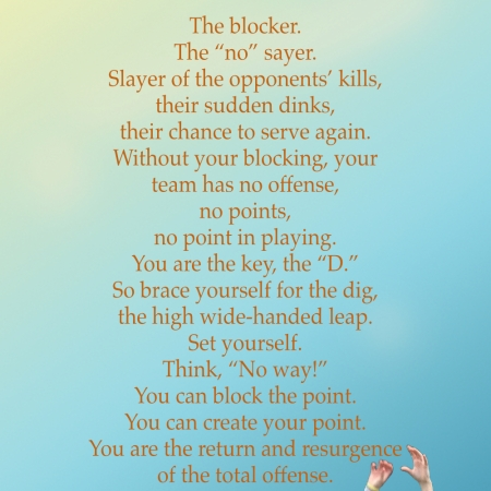 Volleyball Blocker Poster ©Felipe Adan Lerma https://felipeadan-lerma.pixels.com/featured/volleyball-blocker-poster-felipe-adan-lerma.html