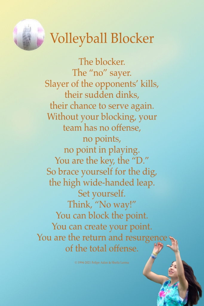 Volleyball Blocker Poster ©Felipe Adan Lerma https://felipeadan-lerma.pixels.com/featured/volleyball-blocker-poster-felipe-adan-lerma.html