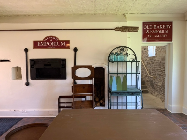 The Old Bakery & Emporium preparing to reopen 2021, seen - 2nd level area