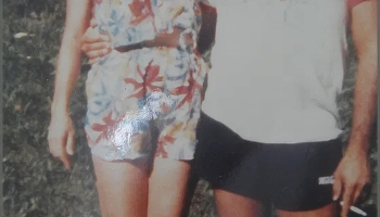 Sheila and Adan Circa 1981