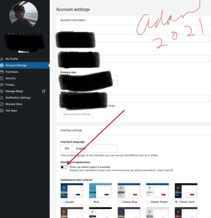 Adjusting my image setting option on WordPress