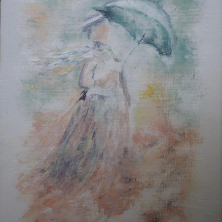 ala Monet Girl With Umbrella ©Felipe Adan Lerma https://felipeadan-lerma.pixels.com/featured/ala-monet-girl-with-umbrella-felipe-adan-lerma.html