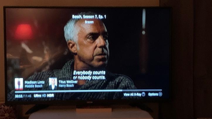 Bosch screenshot, Episode 1 Season 7 (final season) https://amzn.to/2UDH0xn