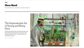 The Impressionist Art of Seeing and Being Seen By Jason Farago https://www.nytimes.com/interactive/2021/06/04/arts/design/berthe-morisot-in-england.html