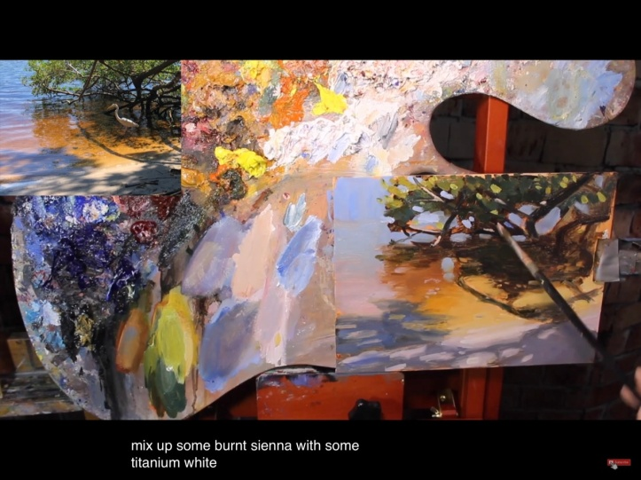 Oil Painting Process Broken Down / Water and Dappled Light via Paint Coach, Chris Fornataro, on YouTube https://youtu.be/HjrEcWzhIGY