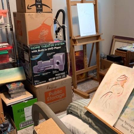 Setting up my art room 07.02.21 ©Felipe Adan Lerma