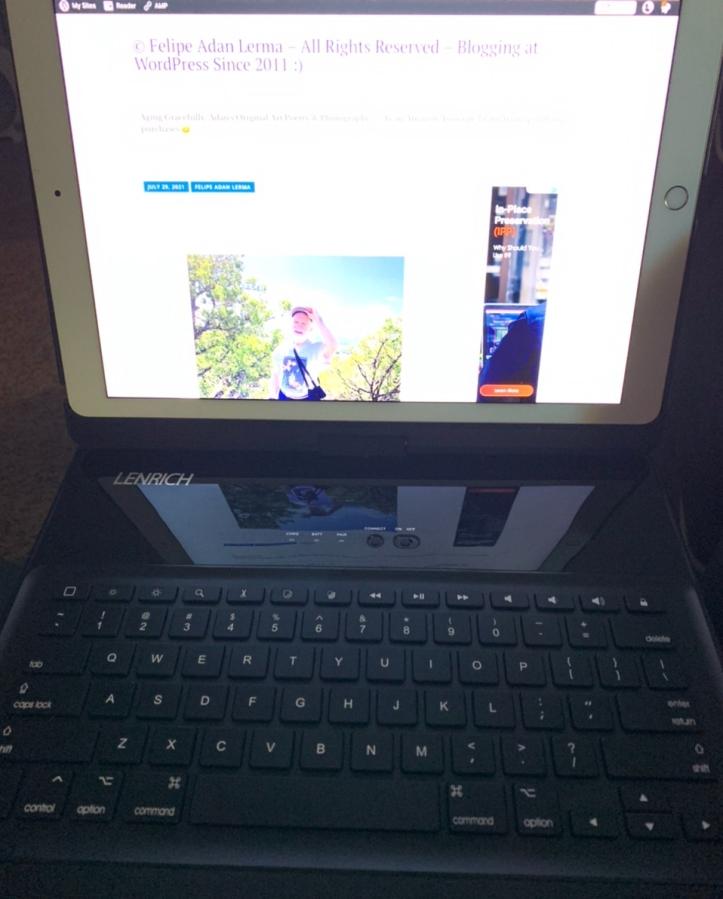 LENRICH iPad pro 12.9 case with keyboard https://amzn.to/3lh2OtI