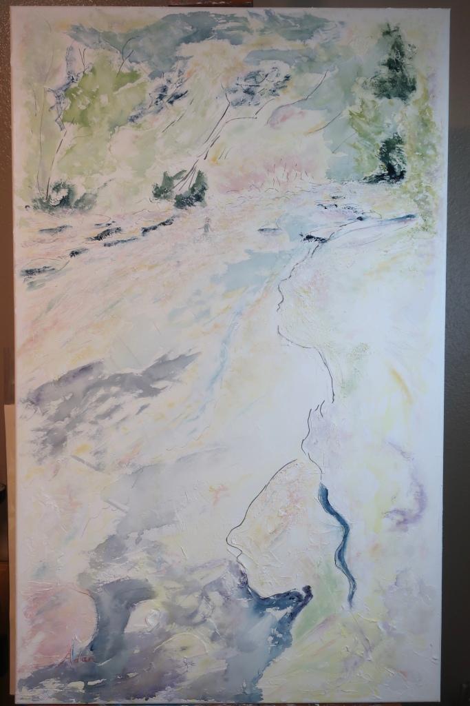 Barton Springs Greenbelt Indian Summer Watercolor ©Felipe Adan Lerma https://felipeadan-lerma.pixels.com/featured/barton-springs-greenbelt-indian-summer-watercolor-felipe-adan-lerma.html