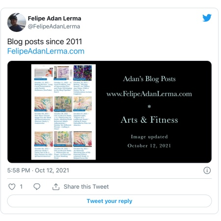 3rd formatted tweet posted on Twitter Oct 2021 https://twitter.com/felipeadanlerma/status/1448060443113758722?s=21