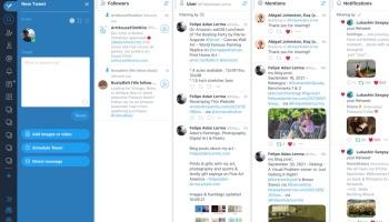 Screenshot, Adan's TweetDeck Oct 2021