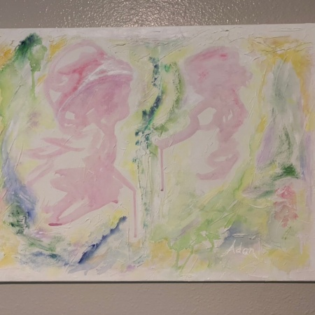 Playtime, Mother and Child ©Felipe Adan Lerma, finished Oct 2021